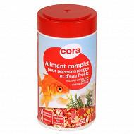 Cora - Aliment complet pour poissons rouges et d'eau froide 50g