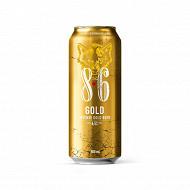 8,6 gold boite 50 cl 6,5%vol