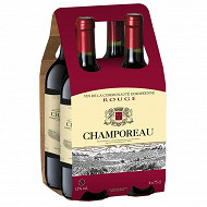 Champoreau vin de la communauté Européenne rouge 4 x 75 cl 12% Vol.