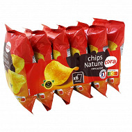 Cora multipack chips nature 6 x 30g