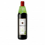 Nature Bio vin Bordeaux rouge 75 cl 12,5% Vol.