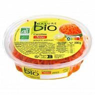 Nature bio carottes râpées 200g