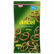 Ancel maxi bretzels d'Alsace 200g