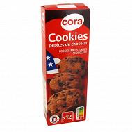Cora cookies pépites de chocolat 200g
