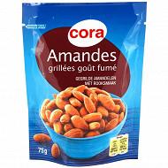 Cora amandes grillées goût fumé 75g