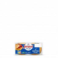 Jacquet muffins nature petits pains à l'anglaise 245g