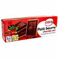 Cora kido petit beurre tablette chocolat noir 150g