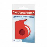 Mercurochrome sparadrap microporeux 5m x 2,5cm