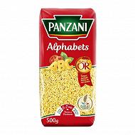 Panzani pâtes à potage alphabets 500g