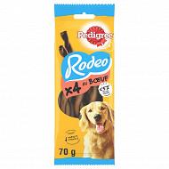 Pedigree sachet 3 récompenses pour chien rodeo boeuf 70g