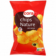 Cora chips nature lisse 200g