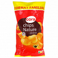 Cora chips nature lisse 350g
