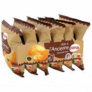 Cora multipack chips à l'ancienne 6x30g