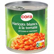 Cora haricots blancs à la tomate 1/2 400g