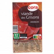 Cora viande des Grisons 12 tranches 80G