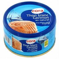 Cora thon blanc Germon au naturel 93g