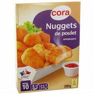 Cora nuggets de poulet 200g
