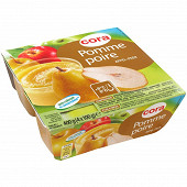 Cora spécialité de fruits de pommes et de poires 4x100g