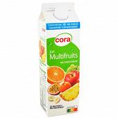 Cora pur jus multifruits multivitaminés  1l