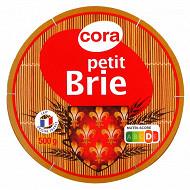 Cora petit de brie au lait pasteurisé 500g