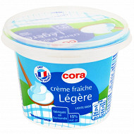 Cora crème fraîche légère 15%mg 199g/20cl