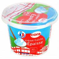 Cora crème fraîche épaisse 30%mg 196g/20cl