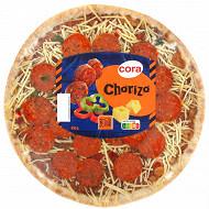 Cora Pizza chorizo 450g