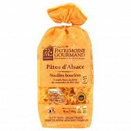 Patrimoine gourmand nouilles bouclées aux oeufs 250g