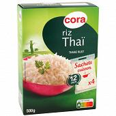 Cora riz thaï 4 x 125g