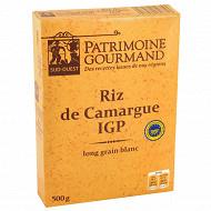 Patrimoine gourmand riz blanc de Camargue long grain 500g