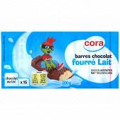 Cora Kido barre de chocolat au lait au fourrage au  lait 200g