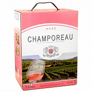 Champoreau Rosé 11% Vol. 5l