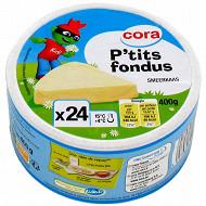 Cora kido fromage fondu 24 portions 19.5% MG 400 g
