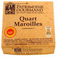 Patrimoine gourmand Quart Maroilles AOP au lait pasteurisé 200g