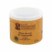 Patrimoine gourmand fleur de sel de Guérande 125g