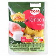 Cora ravioli jambon 300g