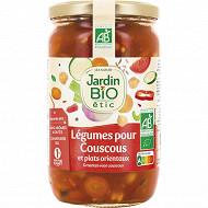 Jardin bio étic légumes pour couscous et plats orientaux bio 660 g
