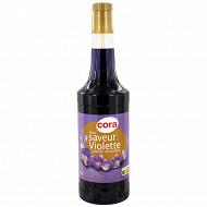 Cora sirop violette bouteille 70cl