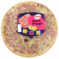 Cora Pizza jambon fromage 450g
