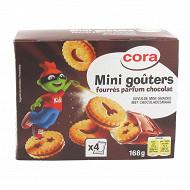 Cora kido mini goûters ronds parfum chocolat 168g
