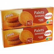 Cora palets bretons 2x125g