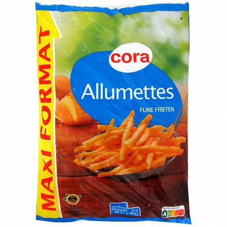 Cora pommes frites allumettes 2,5kg
