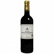 L'âme du terroir Côtes de Blaye 75 cl 13.5% Vol.