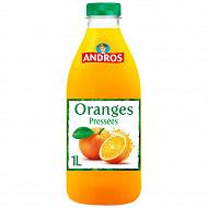 Andros pur jus d'oranges pressées 1l