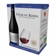 L'âme du terroir Côtes du Rhône rouge  3 Litres 13.5% Vol.