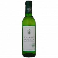L'âme du terroir Bordeaux blanc sec 37,5 cl 12% Vol.