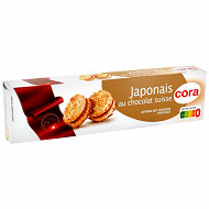 Cora biscuits japonais au chocolat suisse 100g