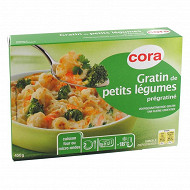Cora gratin de petits légumes prégratiné 450g