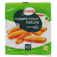 Cora madeleines longues nature 440g