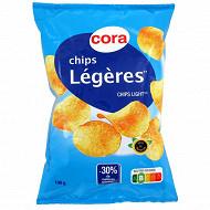 Cora chips allégées en matières grasses 100g